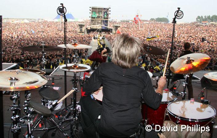 Nova foto do Will Hunt no Download Festival 2007 ! | Ev New