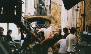 Imagem do Making off de My Immortal