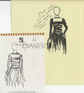 Roupa usada por Amy Lee no Grammy Awards 2004